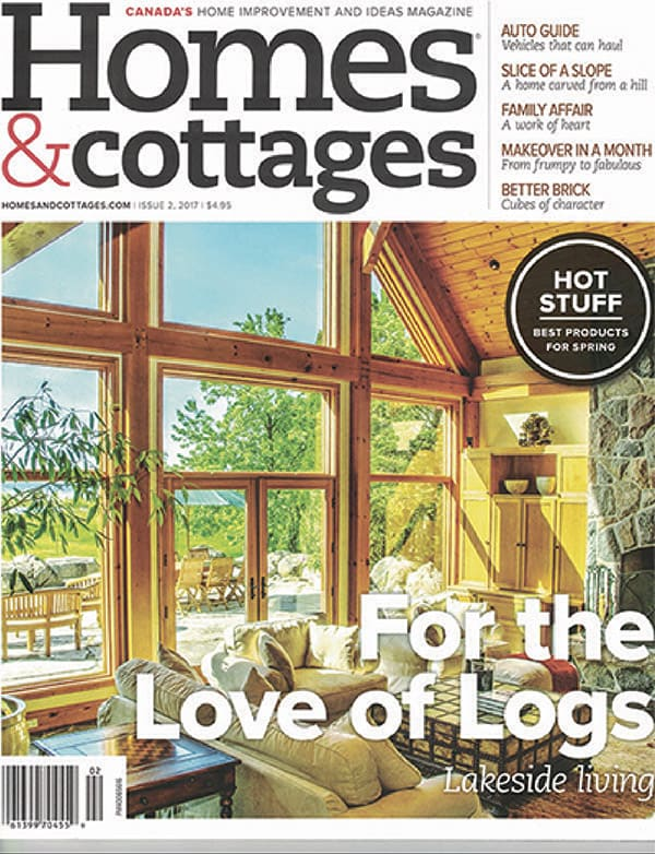 Homes and Cottages Magazine Cover